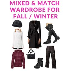 c912e5eb98 Great Buys - Mixed And Match Wardrobe For Fall