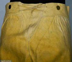 Contemporary Makers: British Consul's Leather Breeches, Boston, 1790