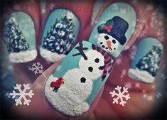 Cute Easy Snowman Nail Art Designs Ideas 2013 2014 10 Cute & Easy Snowman Nail Art Designs & Ideas 2013/ 2014