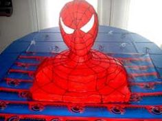 This site tells you how to make your own Spiderman cake, and it has lots of games to play during your outdoor movie party - A unique movie night theming idea from Southern Outdoor Cinema.