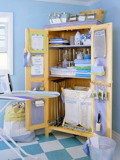 Small and cute laundry