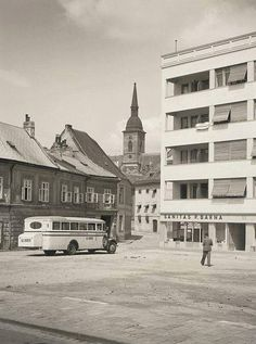Bratislava, Old Photos, Street View, Building, Photography, Travel, Car Humor, Times, Pictures