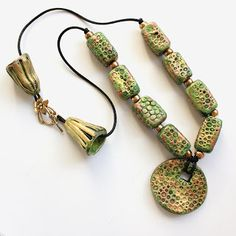 StrebeDesigns: Statement necklaces ... fun! fun! fun!