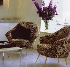 #Leopard animal print leopard print cheetah print chairs