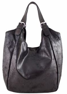 e3eb3a6605cd Black Etasico Mona Distressed Leather Handbag on SALE  169   FREE SHIPPING   Etasico  etasicomona
