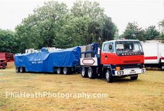 1985 Scammell photographed in Old Lorries, Fun Fair, New Career, Commercial Vehicle, Cool Trucks, Trailers, 1980s, Parks, Transportation