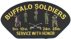 Buffalo Soldiers Emblem badge