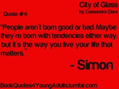 YA Book Quotes<<< Simon: Spouting wisdom like the tears of the great goddess Athena!