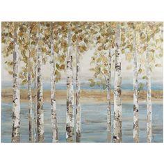 Birch Breeze Tree Art   Pier 1 Imports