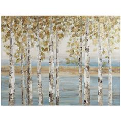 Birch Breeze Tree Art | Pier 1 Imports