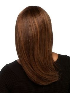 Straight Capless Nice Synthetic Wig - Image 2