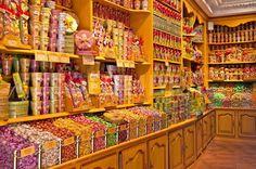 Oude snoepwinkel.