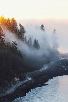 Breath taking mist