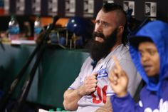 Los Angeles Dodgers Brian Wilson... Fear the Beard SF Giants! We're coming for you!
