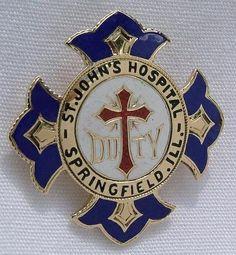 St. John's Hospital School of Nursing Graduation Pin (Springfield) (Grandma Sampson's nursing pin)