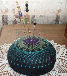 pincushion machine embroidered