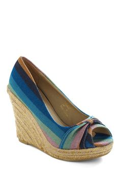 Aqua Ocean Wedge-Got these at Rue 21 for $7.99 <3