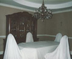 Like for Chair Covers Reblog for Important Ghost Meeting