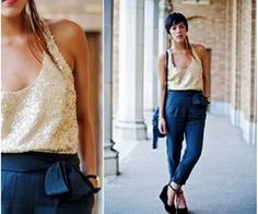 Navy and gold.