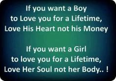 Quote-About+Respect+Relationship | If you want a boy to love you for a lifetime, love his heart not his ...