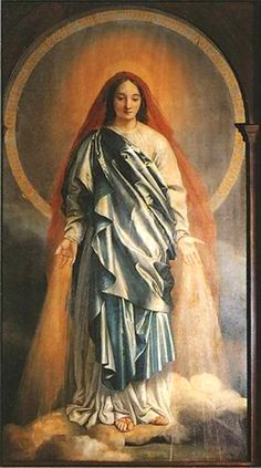 Mary's nature and person are totally distinct from the nature and person of the Holy Spirit. Still, their union is so inexpressible, and so perfect that the Holy Spirit acts only by the Immaculata, his spouse....
