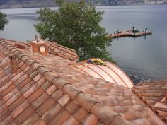 Best Real Mediterranean Clay Roof Tiles Color Mixed To Simulate Aged Look Roofing Clay Roof 640 x 480