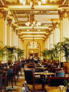 The Peninsula, Hong Kong. ~ Have tea here on the ground floor! ♥♥♥  Love visiting here for Afternoon Tea every trip! It's a must do...