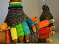 My rainbow mitts
