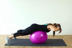 gym ball exercices dos