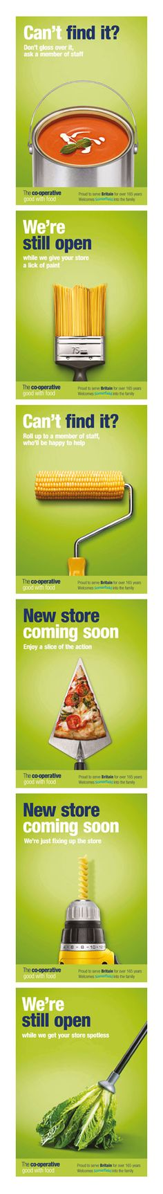 All rather liked these store refit posters from Dinosaur.co.uk #advertising