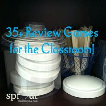35+ Review Games for Spicing Up Unit/Test Review! -sproutclassrooms.com