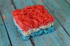 Fourth of July Rice Krispies Treats -007