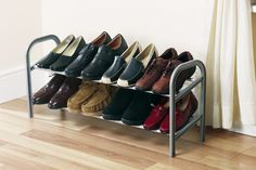 NEW EXPANDING SHOE RACK TRAINERS HEELS BOOTS SANDLES RRP £24