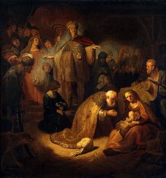 Magi-rembrandt - 東方三博士の礼拝 - Wikipedia