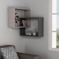 wall shelves for living room wooden wall shelves wall shelf design modern wall shelves Unique Wall Shelves, Wooden Wall Shelves, Floating Shelves, Shelf Wall, Wall Shelving, Wall Ledge, Grey Shelves, Shelves In Bedroom, Shelving Ideas
