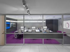 Steelcase / V.I.A. / Media:Scape / Reply Chairs / Pop Of Color / Colored Carpet