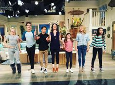 """Photos: """"Liv And Maddie"""" Cast Live Audience Taping April 2016 Disney Channel Movies, Disney Channel Stars, Disney Stars, Old Disney Shows, Liv Rooney, Big Bang Theory Quotes, Emma Ross, Los Angeles Hollywood, Cameron Boyce"""