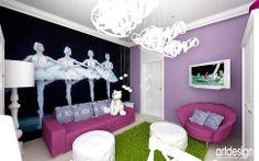 pokoje dla dzieci wnętrza - Pokój dziecka - Styl Nowoczesny - ARTDESIGN architektura wnętrz