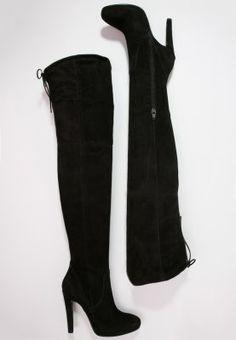 Dieser Overknee verschlägt dir die Sprache. Mai Piu Senza High Heel Stiefel - nero für 199,95 € (14.12.15) versandkostenfrei bei Zalando bestellen.