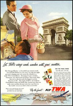 TWA, 1950s