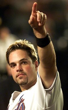 Mike Piazza - not the best on defense, but he called a good game and swung the bat!