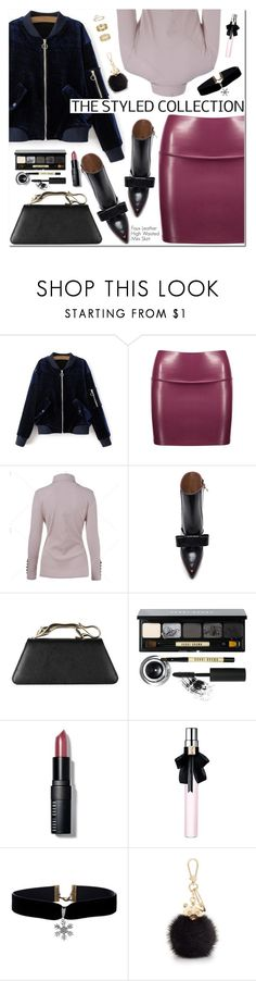 """""""The Styled Collection"""" by oshint ❤ liked on Polyvore featuring Marni, Bobbi Brown Cosmetics, Yves Saint Laurent, Furla, Miss Selfridge, awesome, amazing, fabulous, wonderful and twinkledeals"""