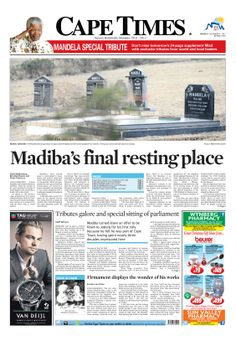 News making headlines: Madiba's final resting place