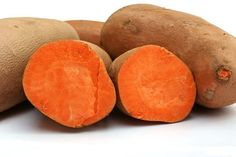 Sweet potatoes are loaded with Vitamin A which is great for babies whose teeth are developing!