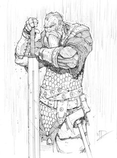 Warrior Sketch by Max-Dunbar on DeviantArt
