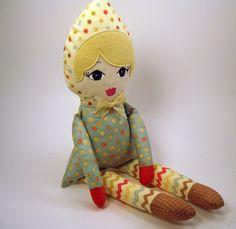 Love this handmade doll for Eva!