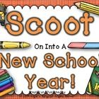 This Scoot Game is designed to help kids get to know each other and for you, the teacher, to get to know them.  ...