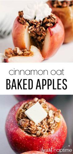 Healthy Dessert Recipes, Healthy Baking, Gourmet Recipes, Delicious Desserts, Healthy Desserts With Fruit, Healthy Fall Recipes, Apple Recipes Healthy Clean Eating, Healthy Summer, Summer Recipes