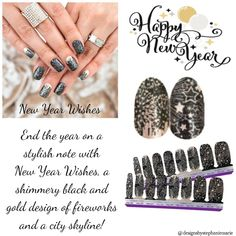 Fail Nails, Street Game, New Year's Nails, New Year Wishes, Nail Polish Strips, Color Street Nails, Beautiful Nail Designs, Accent Nails, Winter Nails