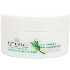 Botanics Organic Hot Cloth Cleansing Balm       , Deeply cleanses and smooths